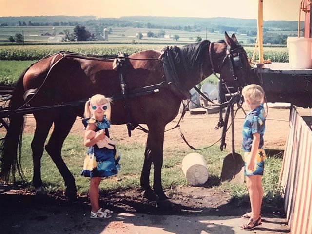 To my twin. Here's to horses, adventures, and questionable fashion choices. #birthday