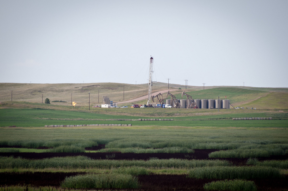Well pad, Bakken Shale, ND
