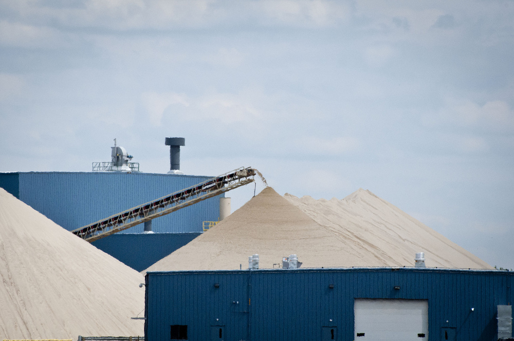 Silica sand for fracking, WI