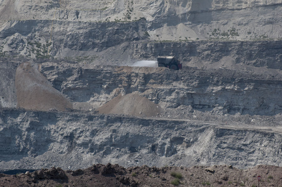 Coal mine, Powder River Basin, WY