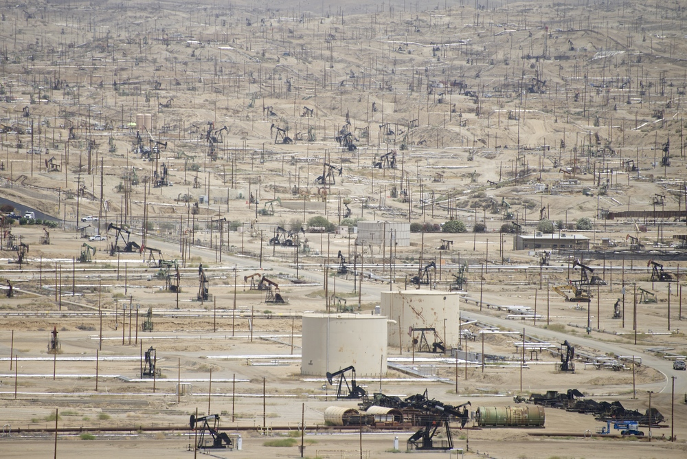 Kern River Oilfield, California