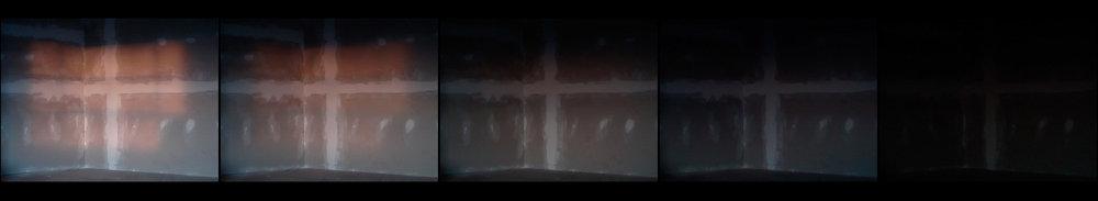stills from 12 minute video loop