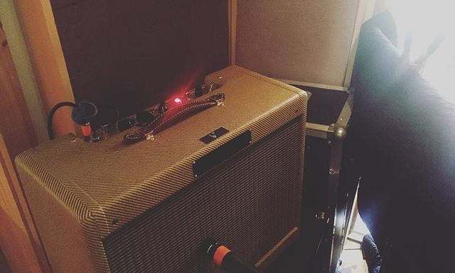 Mission Deluxe clone for @adamanglin overdubs.