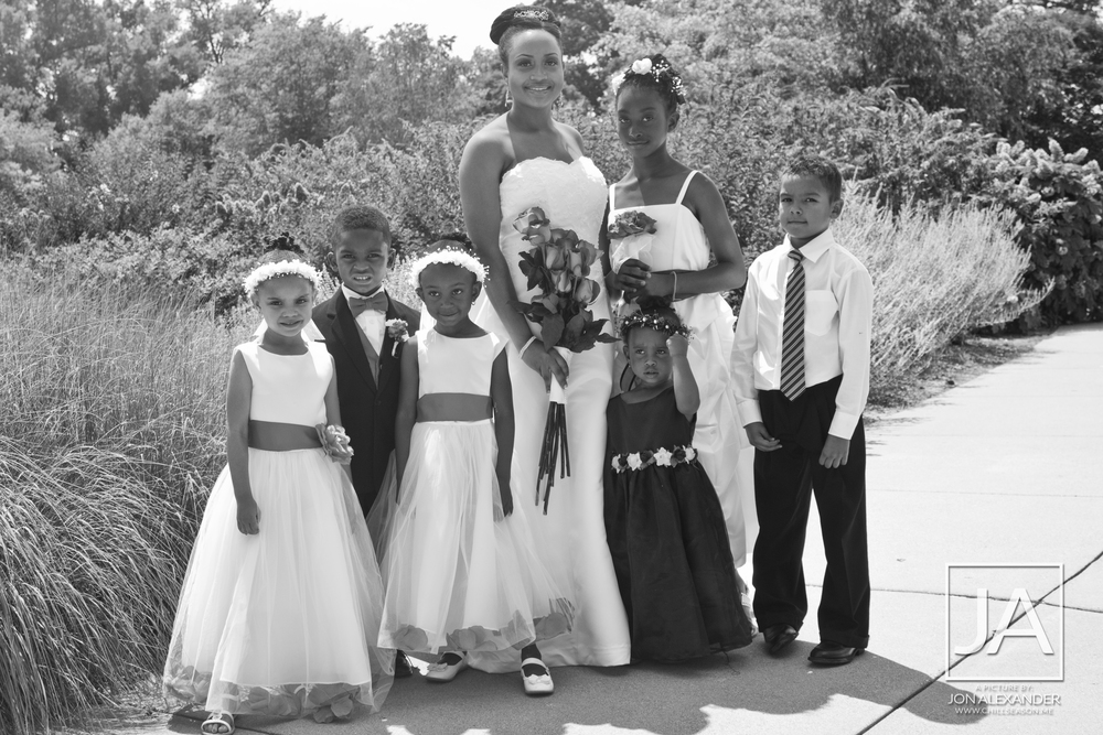 Rashad's Wedding
