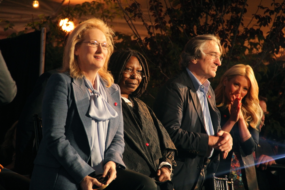 Meryl, Whoopi, Robert, Kelly