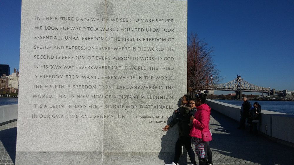 The Four Freedoms...