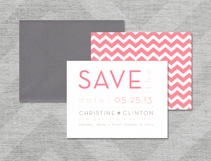 Save the Date :: Christine Design
