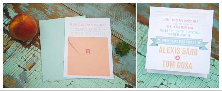Custom pinkpolka invitations stationery edmonton wedding blake loates photography solutioingenieria