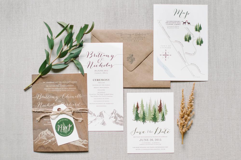 Edmonton Wedding Invitations: Real Wedding :: Brittany & Nick