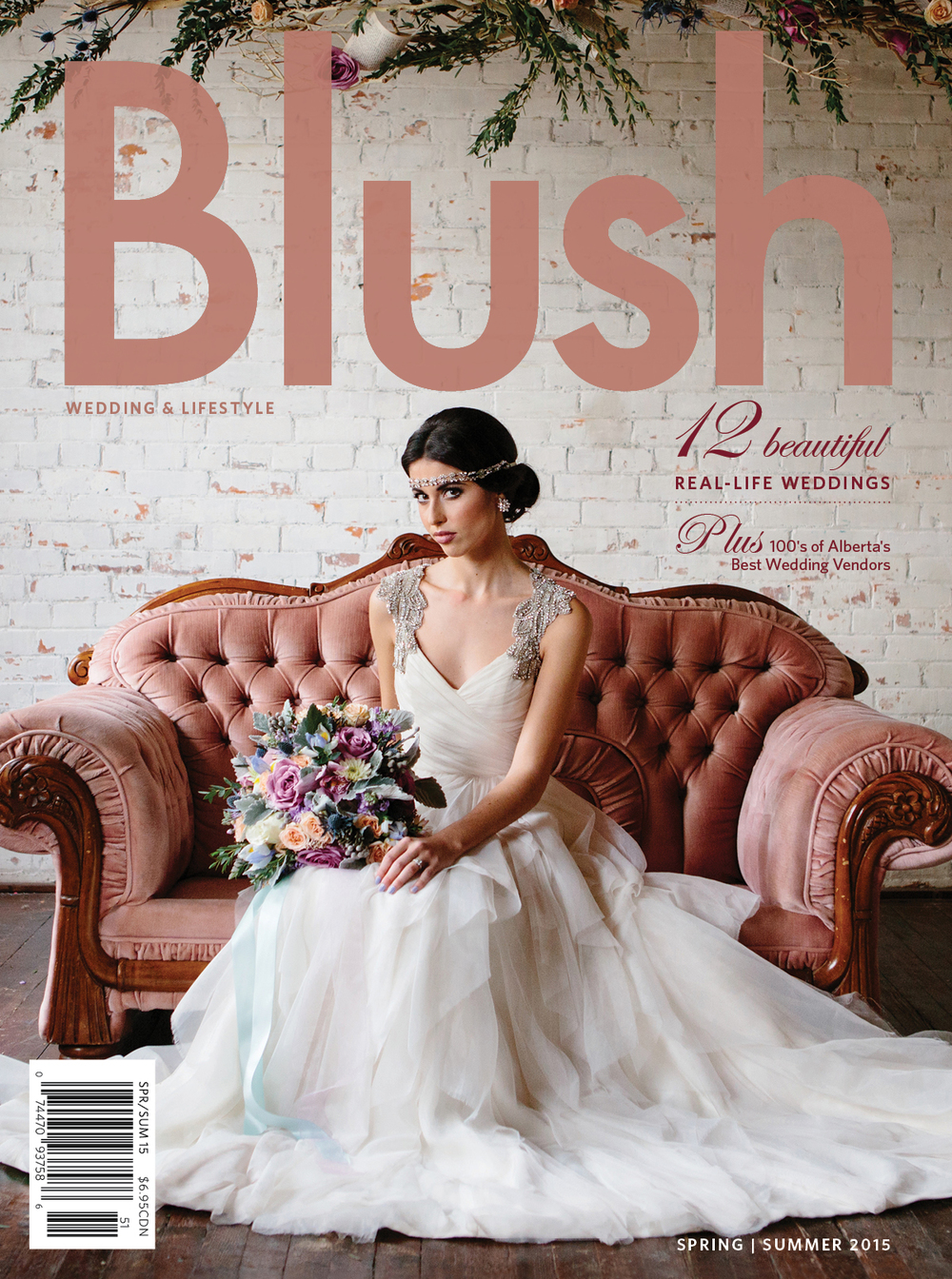 BLUSH :: SPRING 2015   Real WEDDING FEATURE
