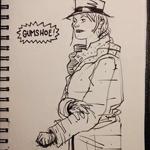 Patrick Jordan will stun you with his wonderful sketching.