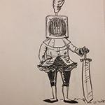 Patrick Jordan's latest drawings!