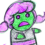 """Dan Conner raises the cuteness factor on his zombies even more on """"Crazy Good Comics."""""""