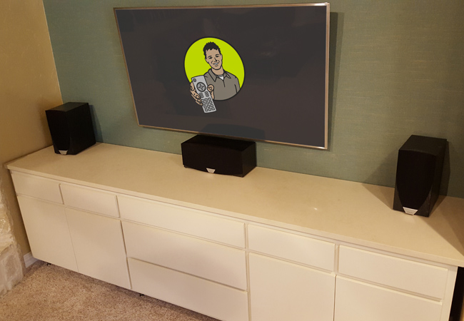 Custom Furniture Piece Built for AV Equipment