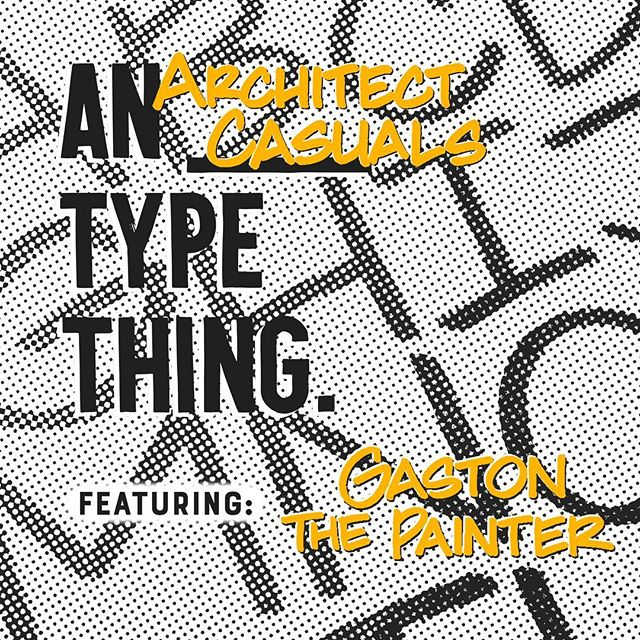 ⚠️ Hello Type Fiends! 🚸 This Sunday I'm hosting @a_typething 's Architect Casuals edition💥 Come have a beer with fellow Letterheads and take a new lettering style home with you. 😎 I'll be talking about my work, the story behind this style, and teaching everybody how to write like an Architect! 📐 It's at @workshopmelbourne , 6:30 PM. Be there or be square. Xx. 🤓 . . . . . . #lettering #melbourne #calligraphy #workshop #typography #type #letters #architect #architectcasuals #architecturallettering #signpainting