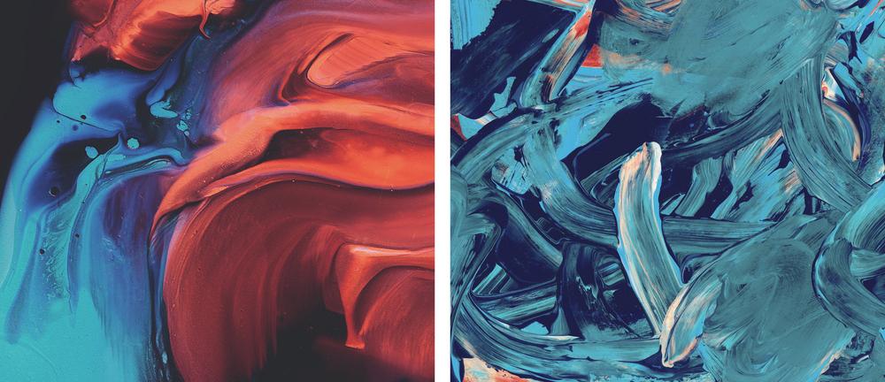 Untitled // Jack Vanzet //Paint, Photography, 2015