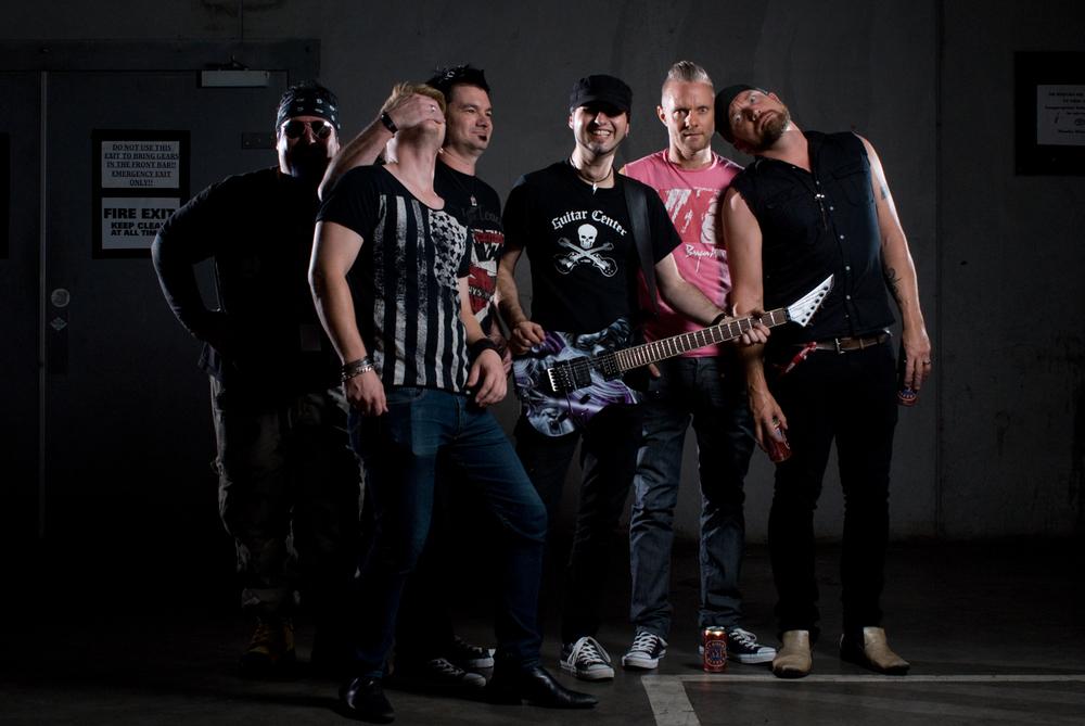 Chris Stark, Adam Anderson, Bryan Murphy, Steve Janevski, Ben Webster & Pete McDonald.