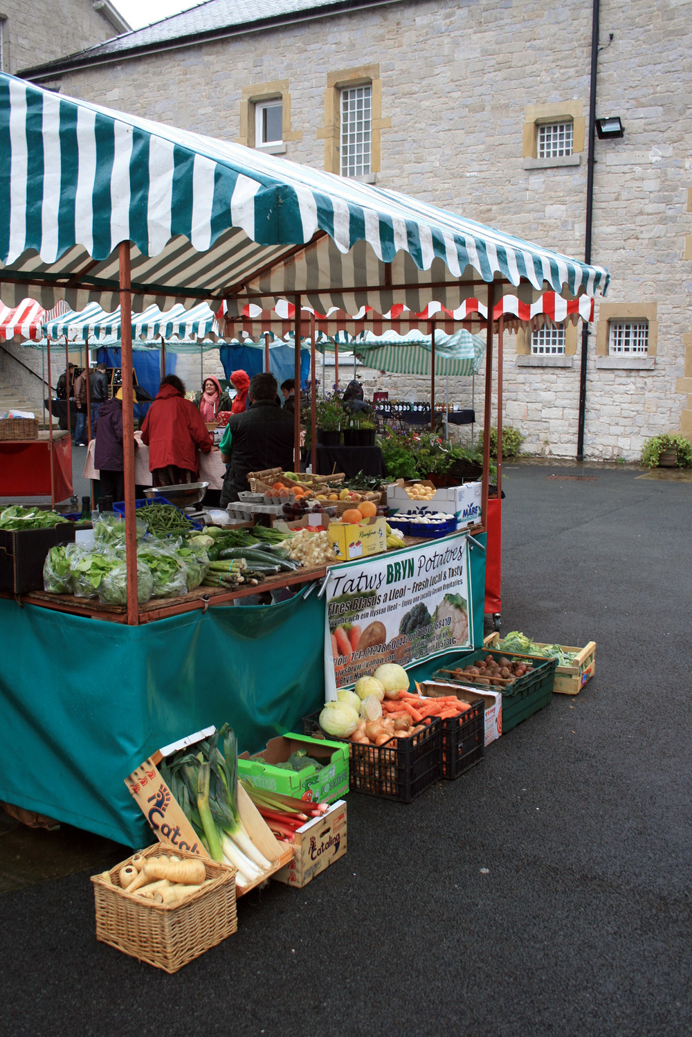 Weekly or monthly markets can attract locals and visitor to your town. Where do these take place?