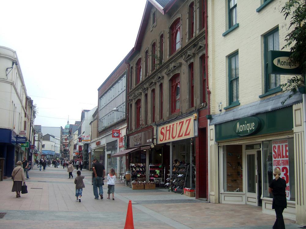 Merthyr Town Centre 28 August 2008 135.JPG
