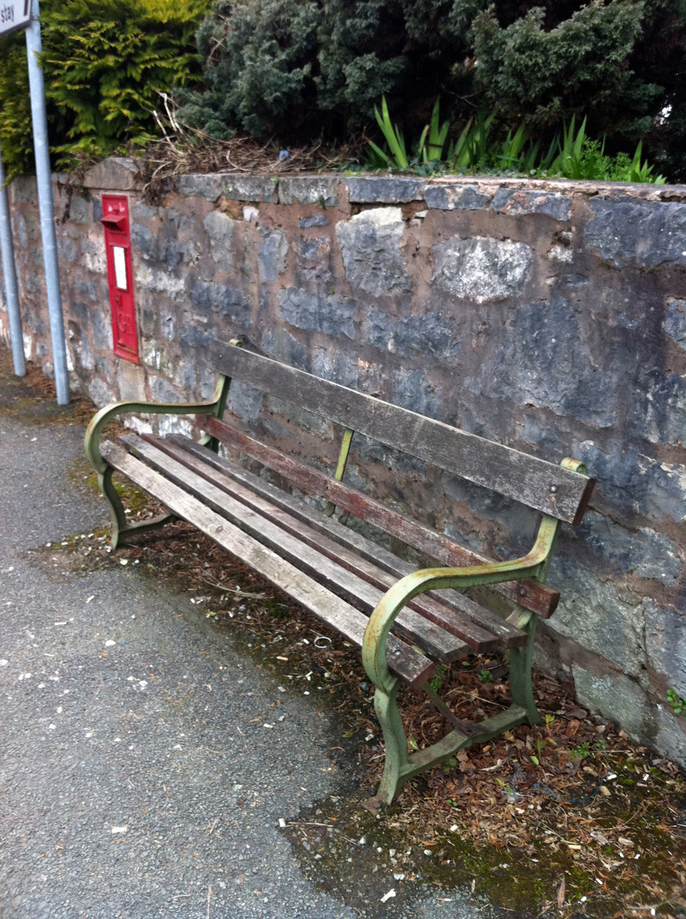 The condition of street furniture is an important first impression of your town