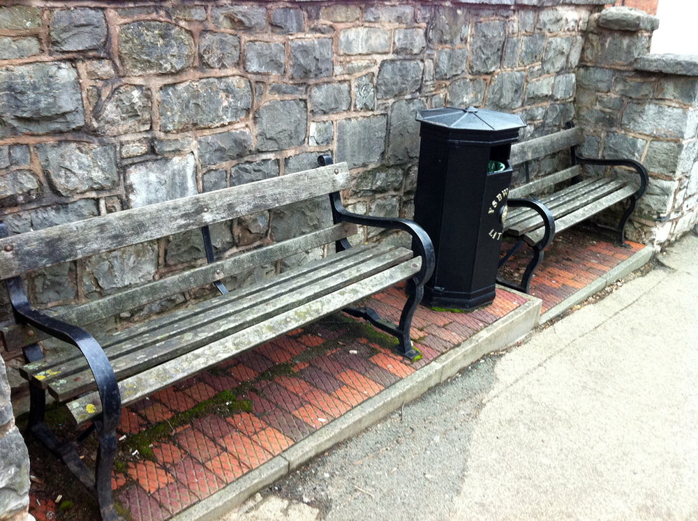 Consider how street furniture is arranged and maintained