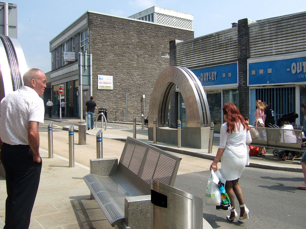 New street furniture and public art can make a dramatic difference to your place