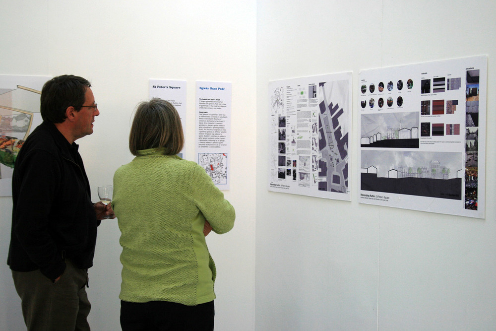 Ruthin Future exhibition