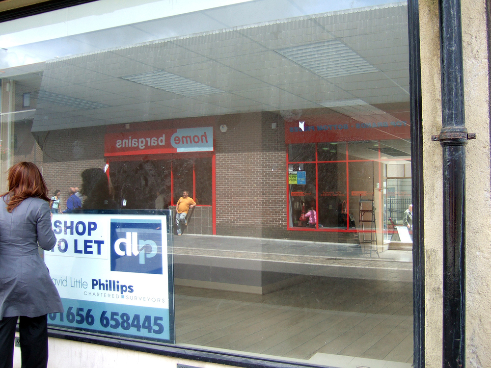 Empty Shops Initiative, Holyhead