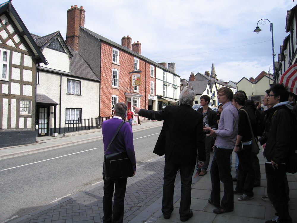Touring Ruthin with a conservation architect