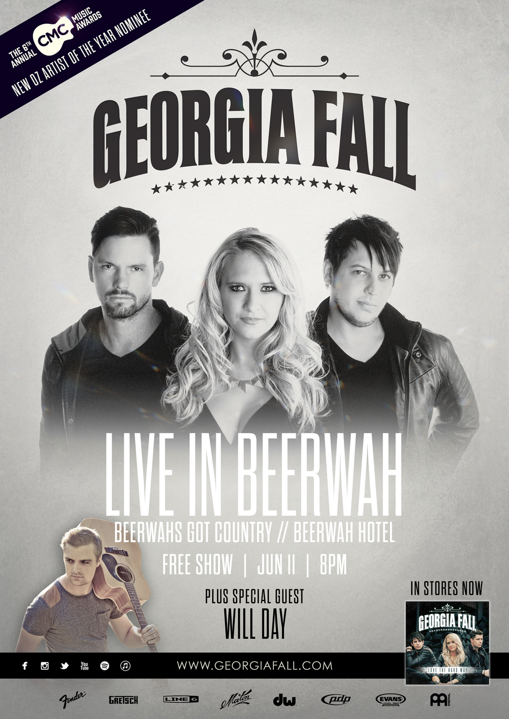Georgia Fall Beerwah Hotel June 2016