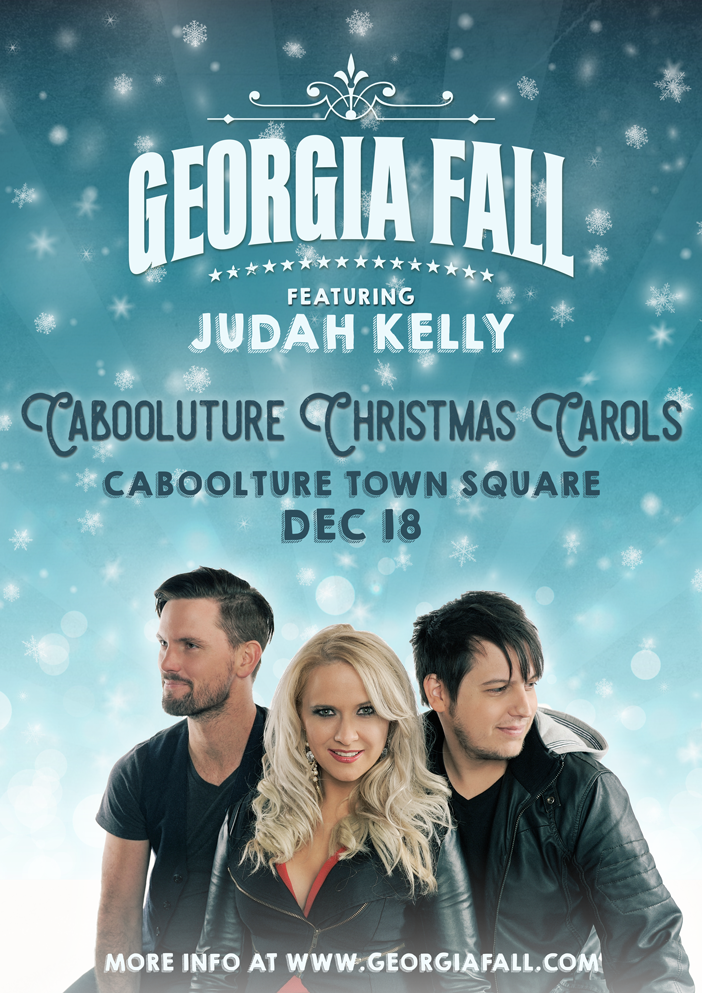 Georgia Fall Caboolture Christmas Carols 2016 with Judah Kelly