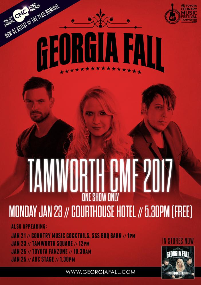 Georgia Fall Tamworth Country Music Festival 2017