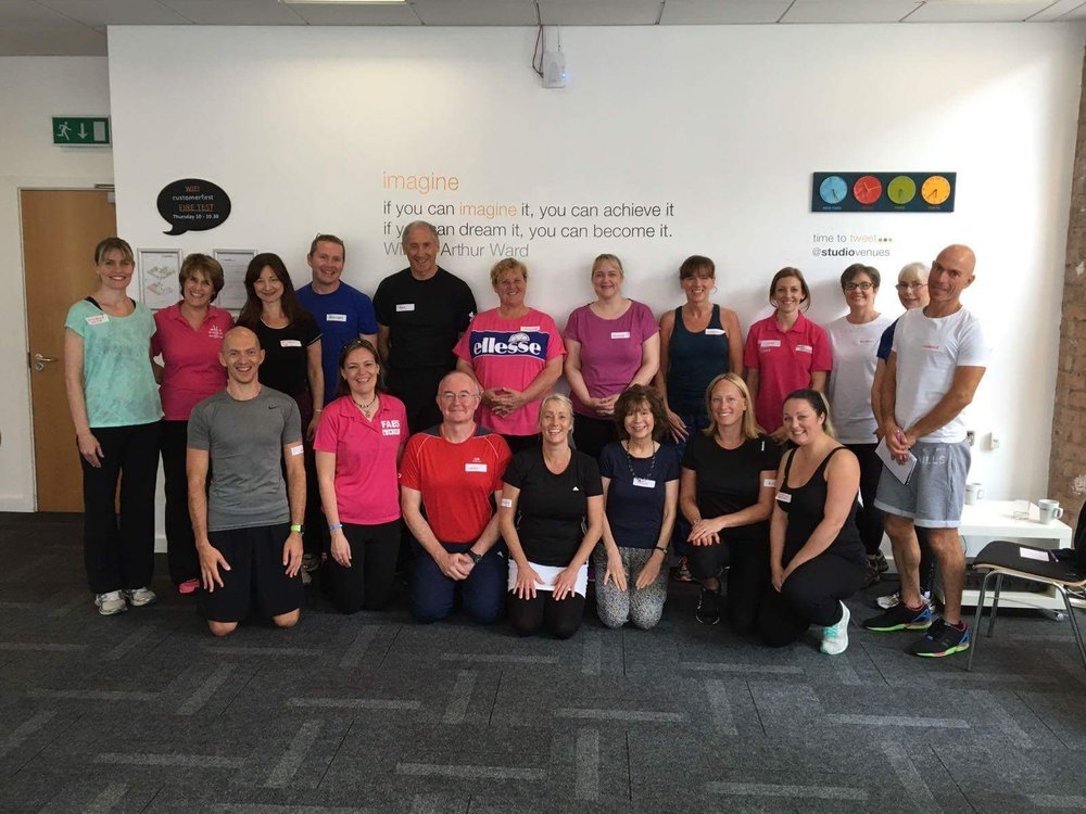 Mr dod in the older adults training in August 2016 - Birmingham