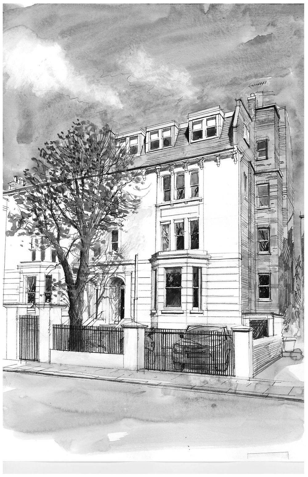 watercolour_front elevation_bw.jpg