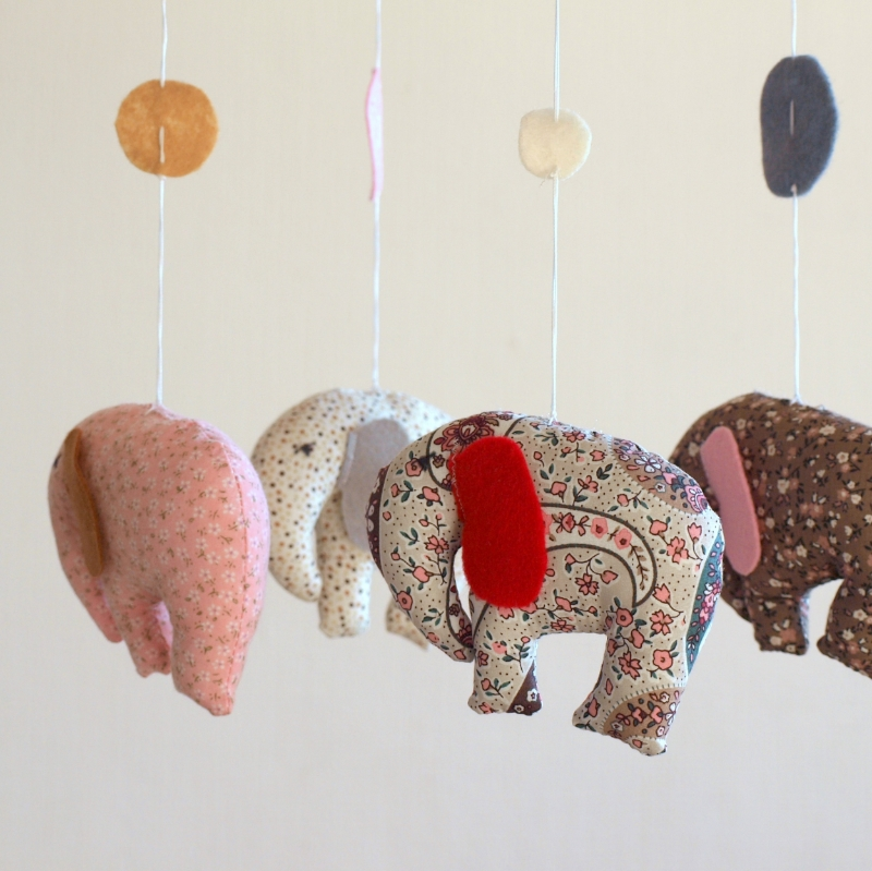 Elephants pink brown 3.JPG