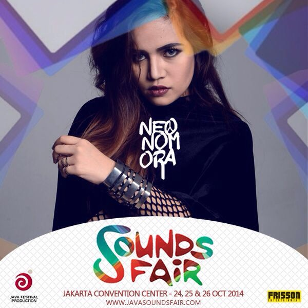 Neonomora SoundsFair Poster