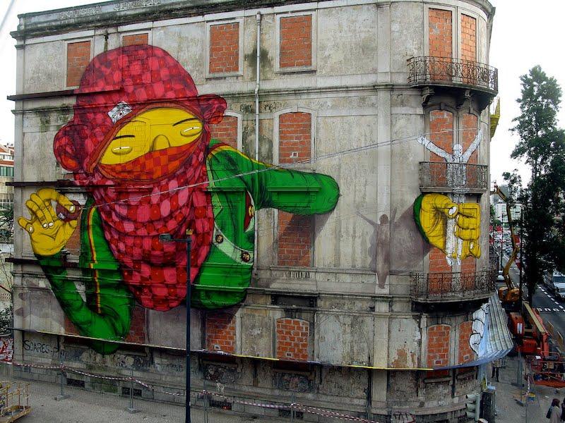 Grafite e pichação são formas de arte?