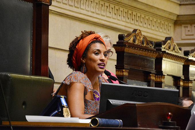 A vereadora Marielle Franco foi alvo de   fake news depois de morta em atentado no Rio de Janeiro