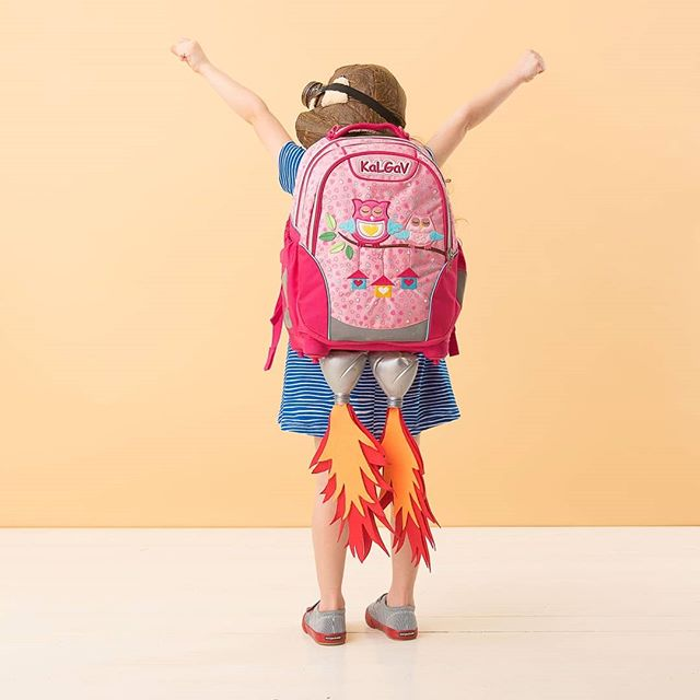 Jet powered backpack! #backpack #backtoschool #studiophotography #kalgav #fantasy #kidphotography