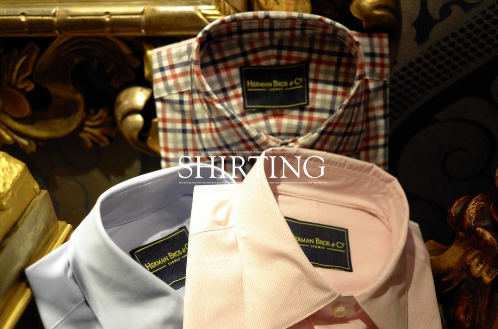 tailored shirts sydney