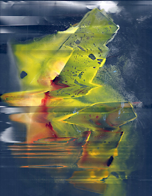 Untitled (Vomit),Scanned liquids