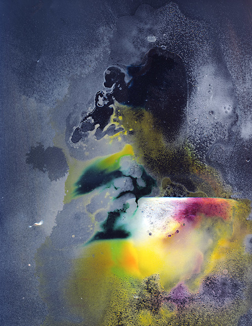 Untitled (Pus),Scanned liquids and chemicals