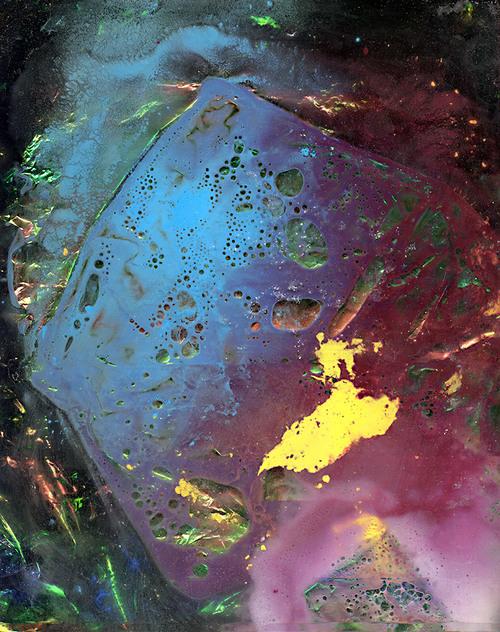 Untitled (Shed),Scanned liquids, plastic