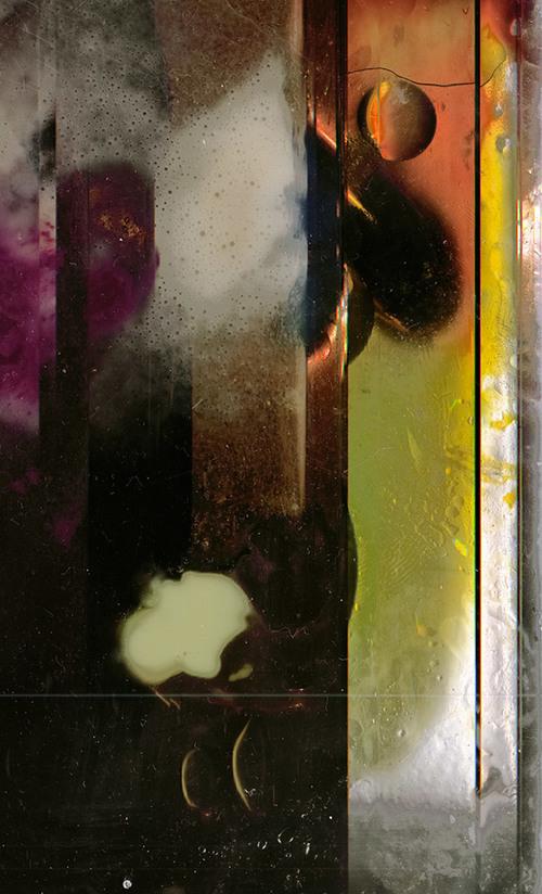 RGB|LED, Scanned liquids, chemicals, mirror