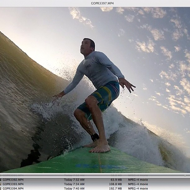 "9'4"" fun. #GoPro #Surf @gopro #rozo (Taken with  Instagram )"