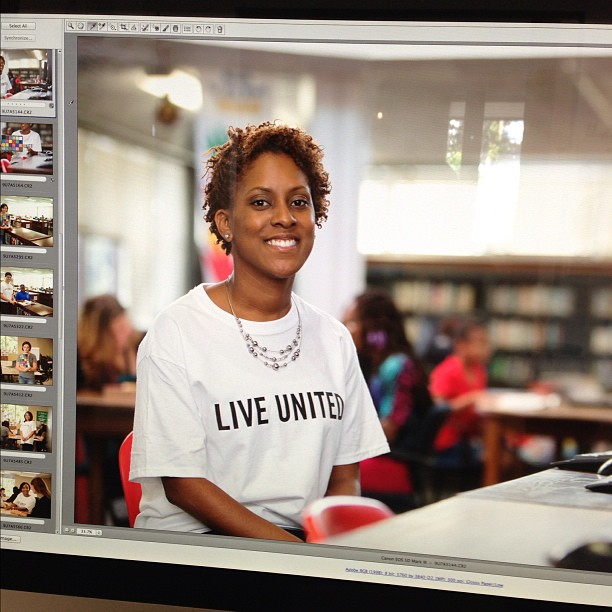 Live United campaign shoot edit. #liveunited (Taken with  Instagram )