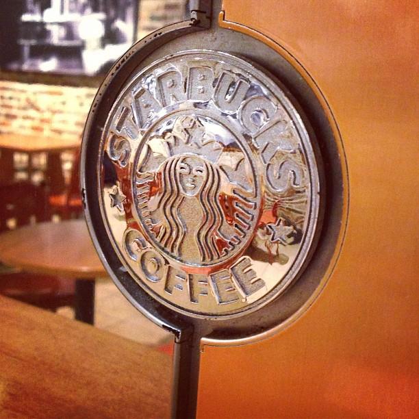 'morning… #coffee @starbucks