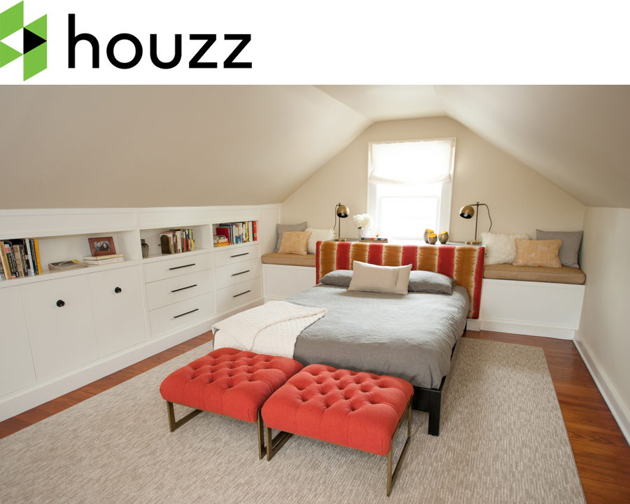 The Warren Road Residence is featured as  Room Of The Day  on Houzz