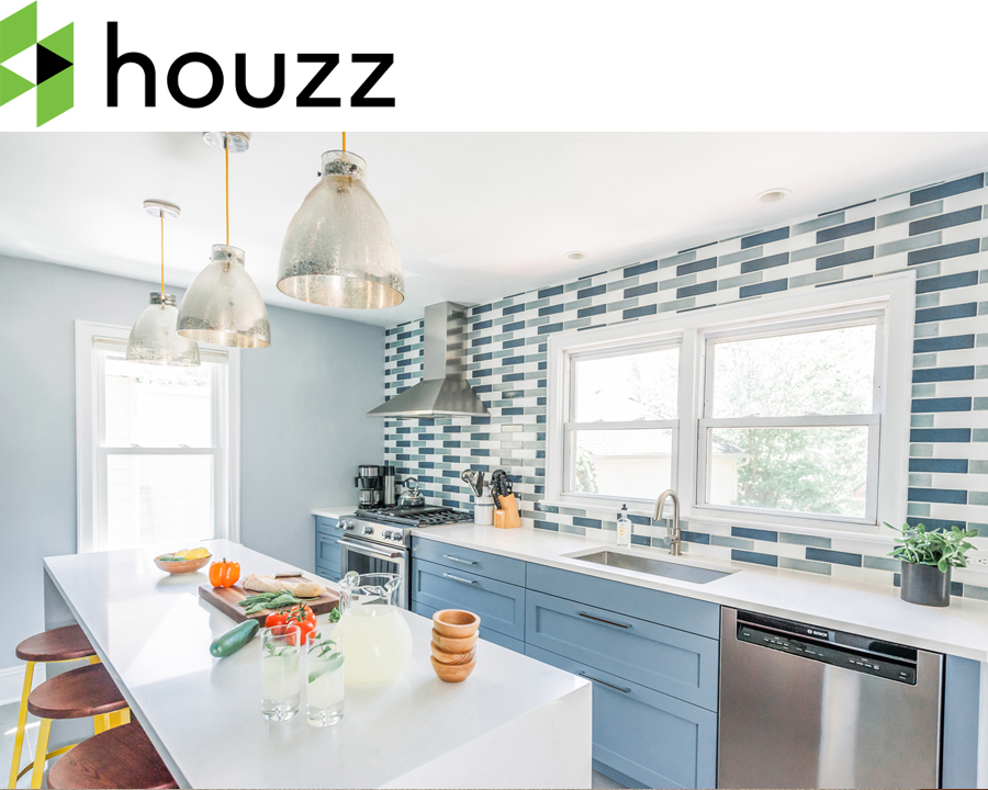 The Franklin Avenue Renovation is featured as  Kitchen Of The Week  on Houzz