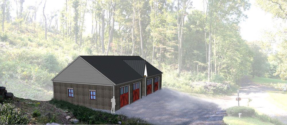 Mountainside Garage Loft